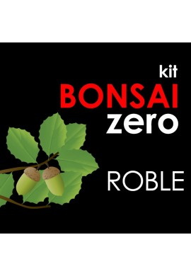 Kit Bonsai Zero Roble Quercus Ilex Ballota