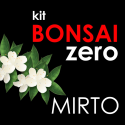 Kit Bonsai Zero Myrtus Communis (mirto)